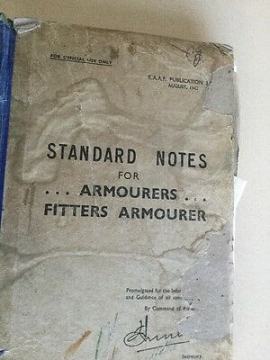 ww2 Standard Notes For Armourers,fitter Armoured