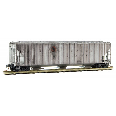 Micro-Trains 09944170 – Weathered Great Northern Covered Hopper #172077 – N S...