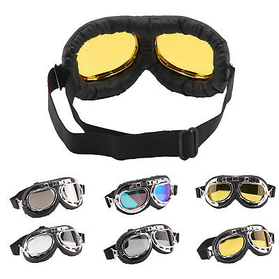 Hot Sale Motocross Motorbike Goggles Scooter Aviator Helmet Glasses Anti Dust