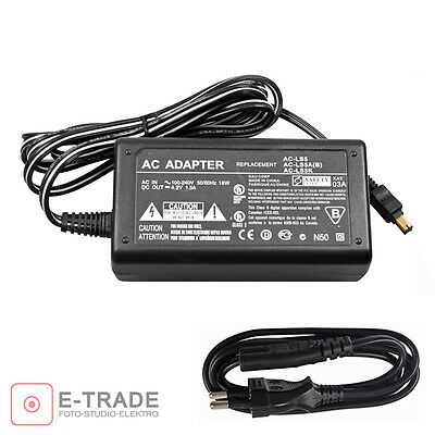 Power adapter - charger for Sony AC-LS5 AC-LS5A(B) AC-LS5K FUR CYBERSHOT