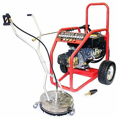 Petrol Jet Washer Pressure Cleaner Warrior 3400P  Driveway Pack Block Paving