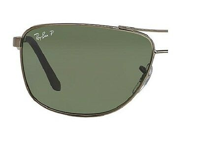 RAY BAN RB 3506 green polarized original replacement lenses -lenti di ricambio