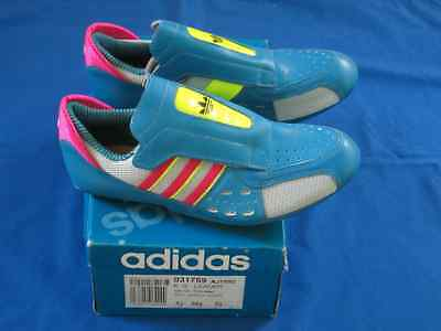 adidas vintage EDDY MERCKX Made in France cycling shoes 80`s uk 5 1/2 - 38 2/3