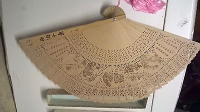 Vintage Japanese Bamboo Fan-Boxed