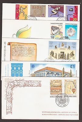1995 Complete Year F.D.C. Official Issues without Tax Refugee Fund Fdc