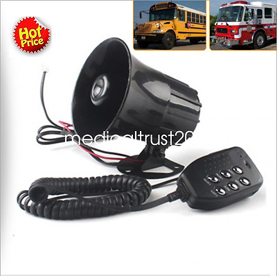 Wired Siren Speaker 12V 100W 150dB Loud High Volume Car Safety Fire Alarm System