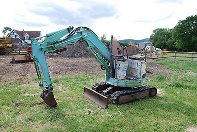 Ihi Is9 Ux 1 Ton Micro Mini Digger Excavator Only 1774Hrs