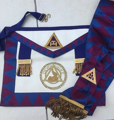 Vintage Royal Arch, Chapter, Provincial Apron and sash set