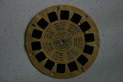 """Viewmaster Reel S23 Study Reel Hawker """"Hurricane"""" British Fighter #AG"""