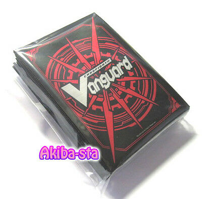 Cardfight Vanguard Promotion Card Sleeves Red 53ct Sealed!! Protectors