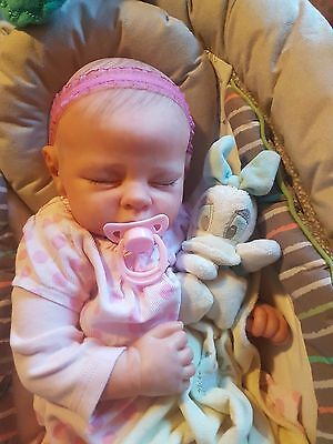 reborn baby girl for sale. Featured on Youtube. Free worldwide shipping