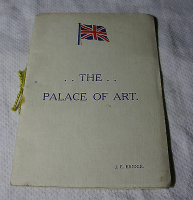 WW1 The PALACE of ART - J E Bridge POETRY In Aid of Wounded Soldiers & Sailors