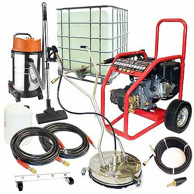 £17/Week on LEASE Business Pack Petrol Pressure Washer Driveway Drain Cleaning