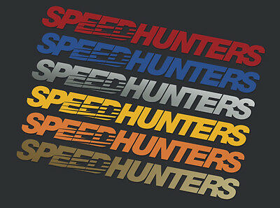 Speedhunters *orange* Screen Header / Windshield Banner - Official Merchandise