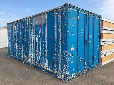 20' x 8' Steel Storage Container - GOOD CONDITION & VALUE!