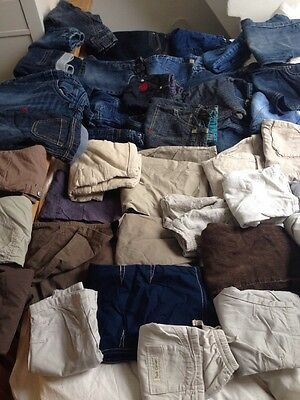 Joblot of 50 children's trousers / jeans / cargos / chinos