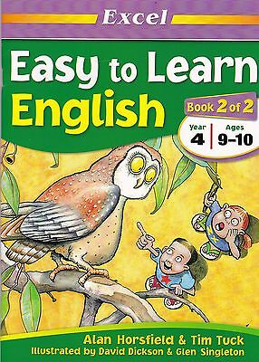 Excel - Easy to Learn English - Book 2 (of 2)  - Year 4 ages 9-10