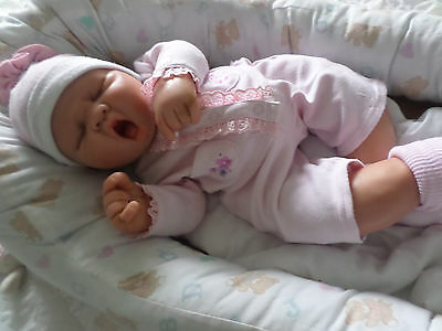 ooak polymer clay baby girl doll