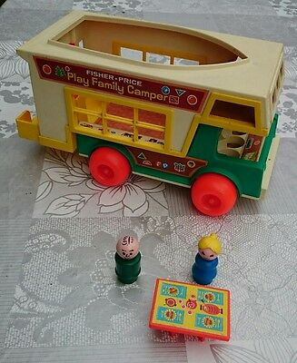 Fisher Price 994 Play Family Camper Wohnmobil 70-er Vintage
