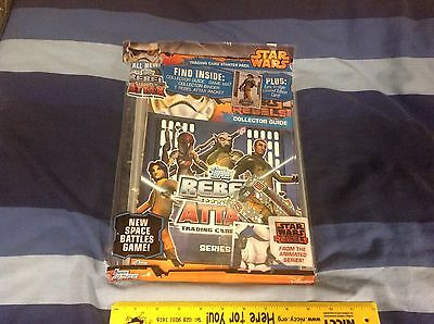 Topps Star Wars Rebel Attax Trading Card Album Starter Pack New Sealed UK Ver.