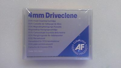 Cassetta Pulisci Testina AF Driveclene for 4mm Drives DCL4MM NUOVA