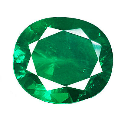 BEAUTIFUL 6.00 Ct COLOMBIAN GREEN COLOR BIRON LAB CREATED GEMSTONE