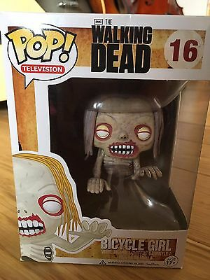 POP Vinyl - Bicycle Girl - The Walking Dead #16