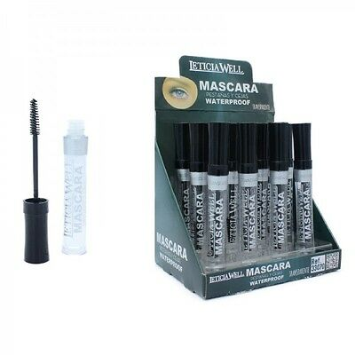 1 Mascara Transparent Waterproof Leticia Well