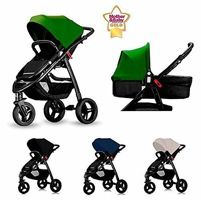Star Ibaby All Road. Cochecito de bebe, color Black
