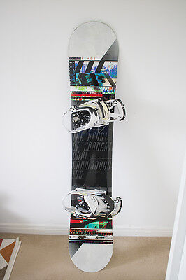 K2 Slayblade with Burton Cartel Bindings