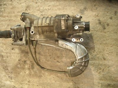 Mini cooper s R53 supercharger, with kavs reduction pulley