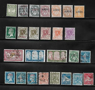 1920 Onwards Collection Of Algeria Unused & Used Stamps