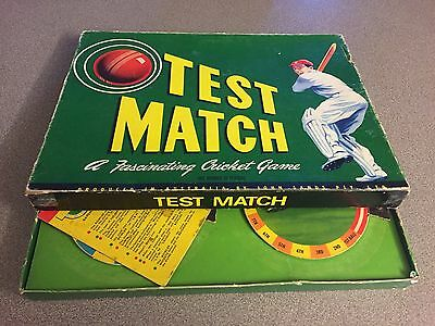 John Sands Vintage Test Match Cricket Game  1955