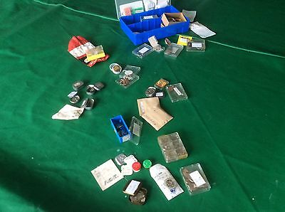 Large Collection of watch parts new or kept for reuse ST/RL/MST etc
