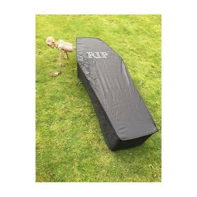 Life Size Vampire Coffin RIP Halloween Party Prop Zombie  Decoration