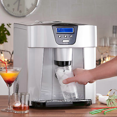 VonShef Digital Ice Maker and Dispenser Machine with LCD Display 13/101