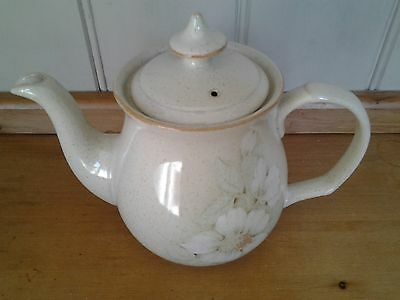 Denby Daybreak  teapot / tea pot holds 2 pints.