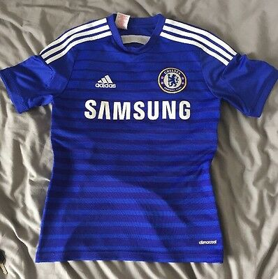 Chelsea FC FOOTBALL SHIRT 13-14 YEARS HAZARD 10