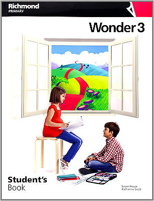 Wonder 3 Students Book Pack Editorial Richmond