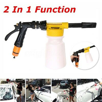 900ML Foamaster II Style Snow Foam Car Auto Wash Spray Gun Lance Uses Hose Pipe