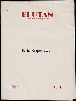Bhutan Original Book By Late Cooper Very Useful Reference