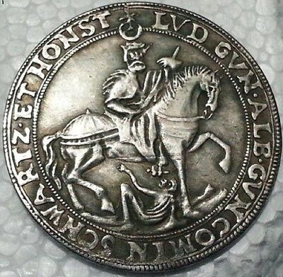 German 1606-EUROPE  Thaler IMPERIAL OLD SILVER COIN