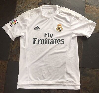 Men's Real Madrid Football Top Shirt Adidas Bnwot New Medium M Rmfc