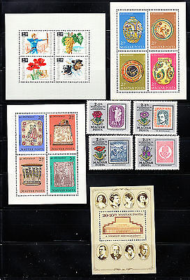 Hungary 1966-1986 Semi-postal Collection all  mint never hinged