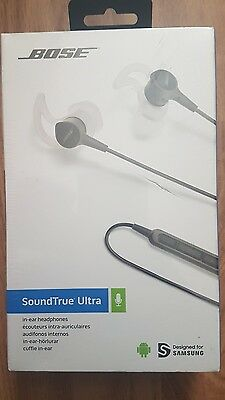 Genuine Bose SoundTrue Ultra In-Ear Headphones for Samsung and Android Devices