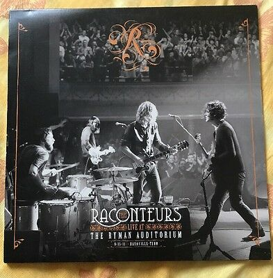 "Third Man Records Vault 18 Raconteurs Jack White (7"" Not Included)"