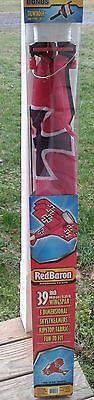"""Red Baron SuperSized Kite 3-D Kite 39"""" Wingspan Ripstop Fabric NEW"""