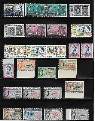 1881 Onwards Turks & Caicos Islands Mainly Unused Stamps - + High Values