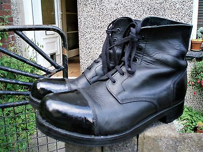 Sz 11 M BRITISH ARMY AMMO BOOTS Military Hobnail Drill Parade WW2 / WW1 Patt.
