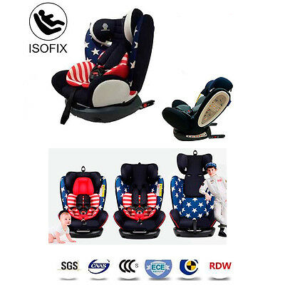Silla de Coche Grupo 0 1 2 3 Isofix Star Ibaby Travel + Top Tether + Cojín.